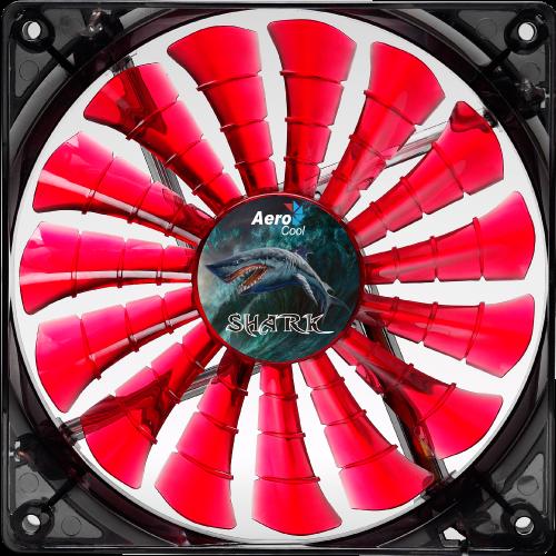 Shark Fan 120мм red