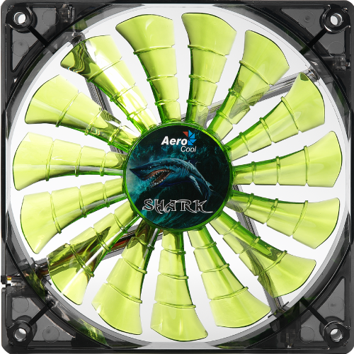 Shark Fan 120мм green