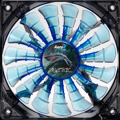 Shark Fan 120мм blue image 2
