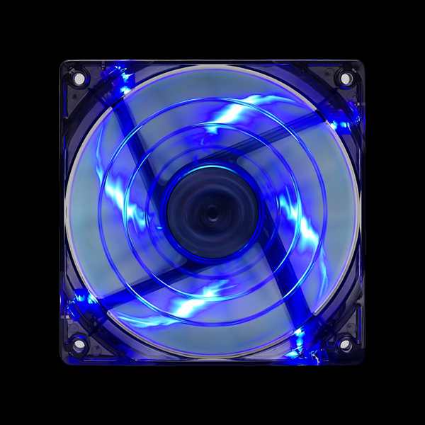 Aerocool Shark Fan 120мм LED (Blue) цена