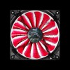 Aerocool Shark Fan 120мм LED (Devil Red) - изображение №2