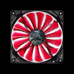 Aerocool Shark Fan 120мм LED (Devil Red)