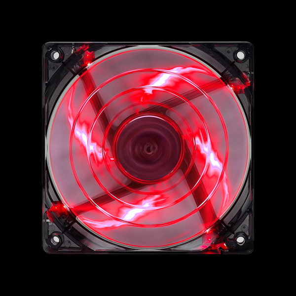 Aerocool Shark Fan 120мм LED (Devil Red) цена