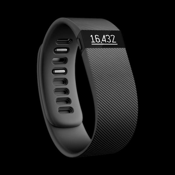 Fitbit Charge Large/Black (FB404BKL) купить