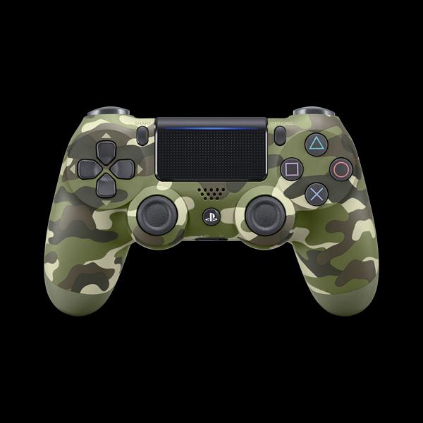 PlayStation 4 Dualshock 4 v2 Wireless Controller Green Cammo купить