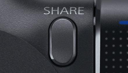 Кнопка SHARE