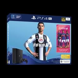 Sony PlayStation 4 Pro 1TB Black + FIFA 19