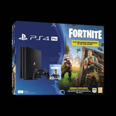 Sony PlayStation 4 Pro 1TB Black (Fortnite) купить