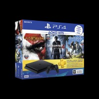 Sony PlayStation 4 Slim 500Gb + HZD/GOW3/UC4/PS+3М