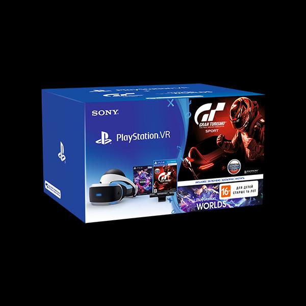 Sony PlayStation VR + Camera/GTSport/VR Worlds фото