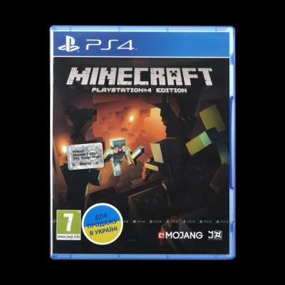 Minecraft PS4 Edition купить