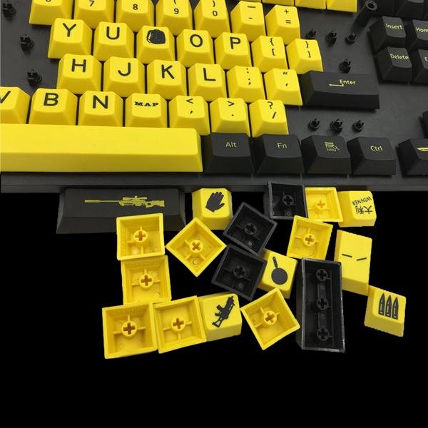 Набор сменных кнопок PUBG Edition (87 keys) фото