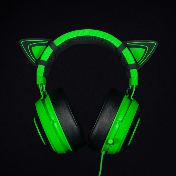 Razer Kitty Ears for Razer Kraken Green Edition (RC21-01140200-W3M1) цена
