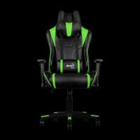 AeroCool AC220BG Gaming Chair (Black/Green)