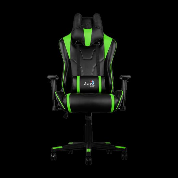Игровое кресло Aerocool Ac220bg Gaming Chair Black Green