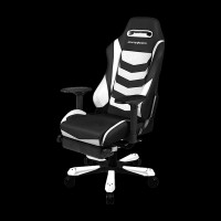 DXRacer Iron OH/IA166/NW Black/White
