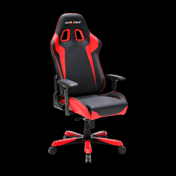 DXRacer King OH/KS00/NR Black/Red купить