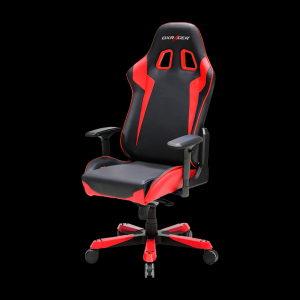 DXRacer King OH/KS00/NR Black/Red цена