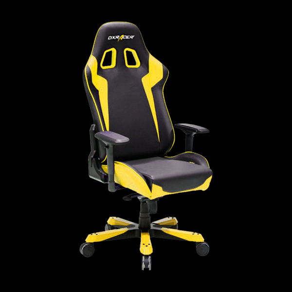 DXRacer King OH/KS00/NY Black/Yellow купить