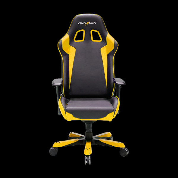 DXRacer King OH/KS00/NY Black/Yellow фото