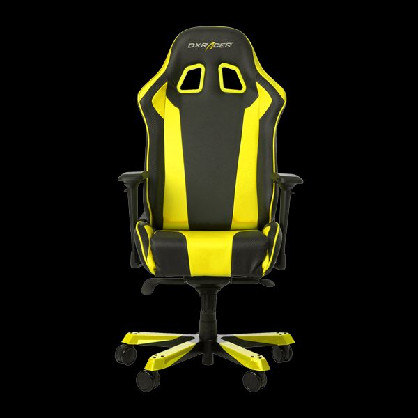 DXRacer King OH/KS06/NY Black/Yellow цена