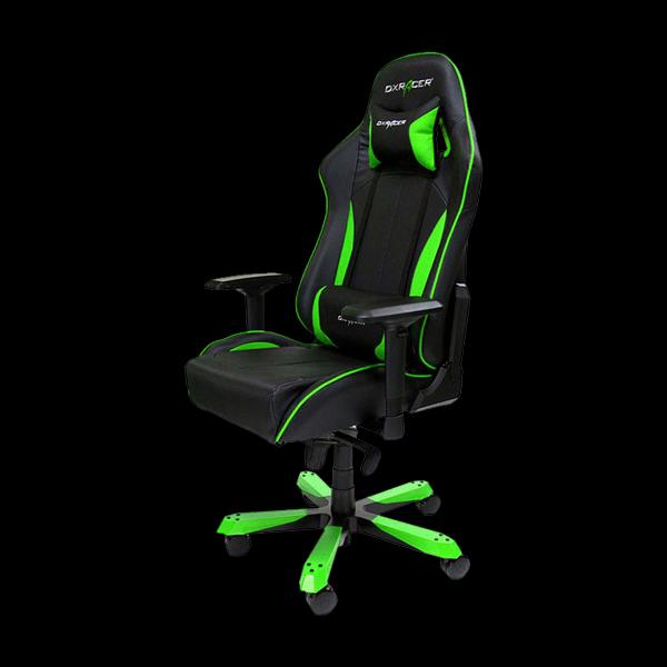 DXRacer King OH/KS57/NE Black/Green купить