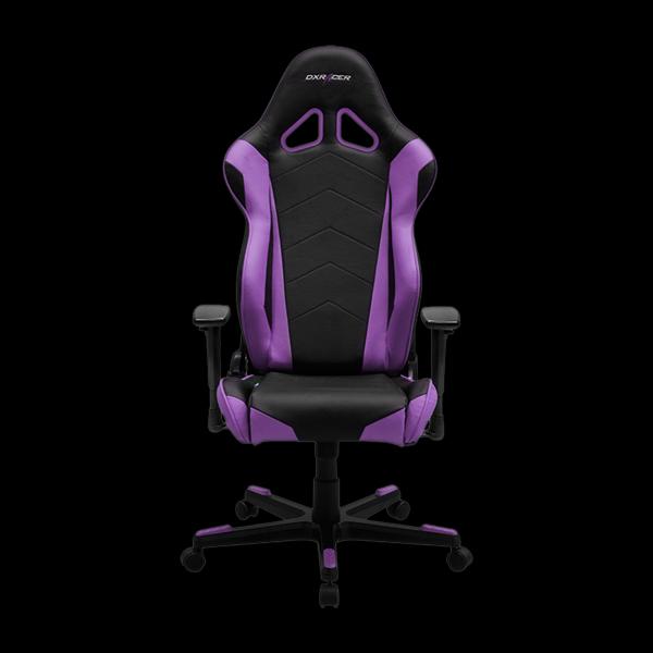 DXRacer Racing OH/RV001/NV Black/Violet цена