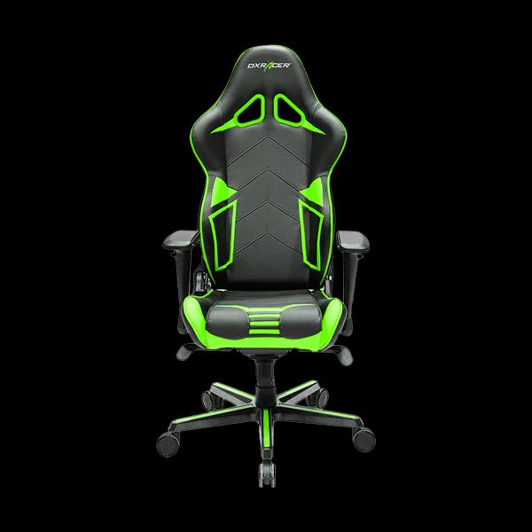 DXRacer Racing OH/RV131/NE Black/Green цена