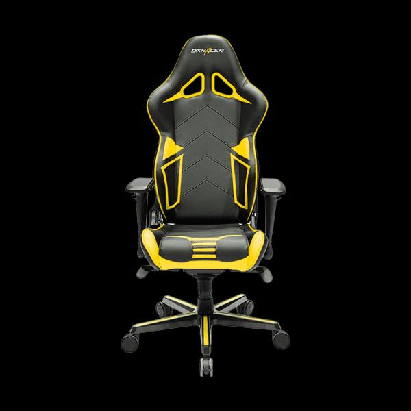 DXRacer Racing OH/RV131/NY Black/Yellow цена