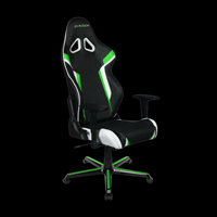 DXRacer Racing OH/RZ288/NEW Black/Green/White