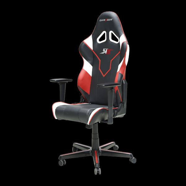 DXRacer Racing OH/RZ81/NWR Black/White/Red M19 Team купить