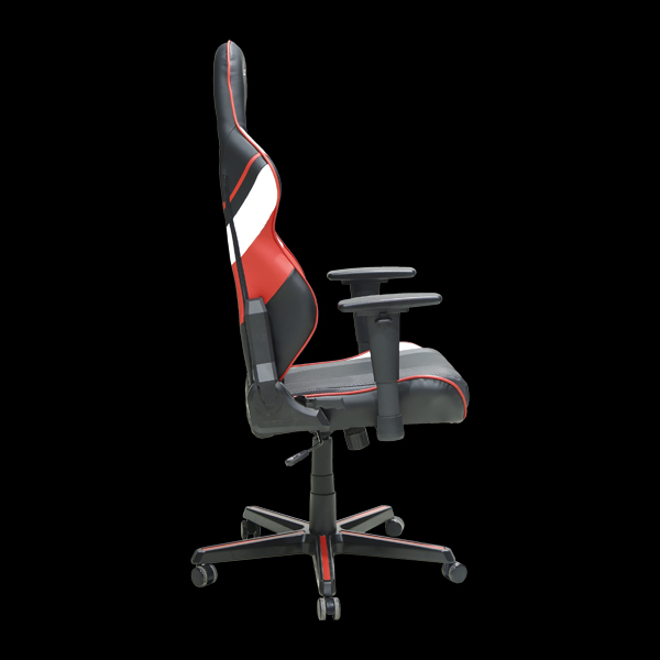 DXRacer Racing OH/RZ81/NWR Black/White/Red M19 Team цена