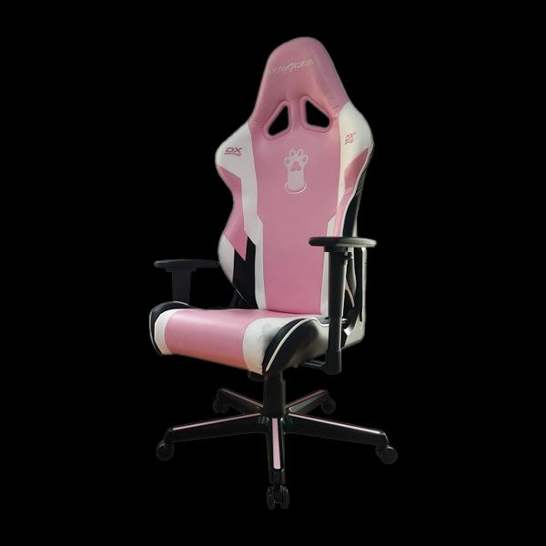 DXRacer Racing OH/RZ95/PWN Pink/White/Black купить