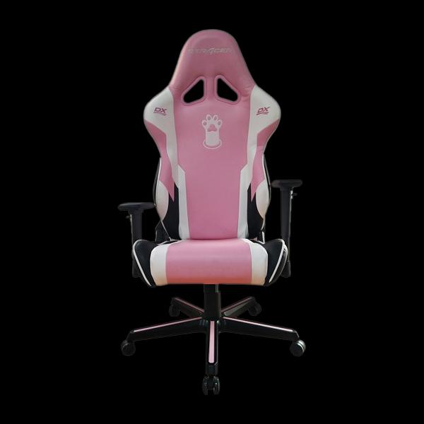 DXRacer Racing OH/RZ95/PWN Pink/White/Black фото