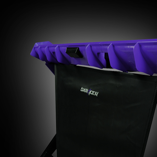 DXRacer GD/1000/NV Black/Violet фото