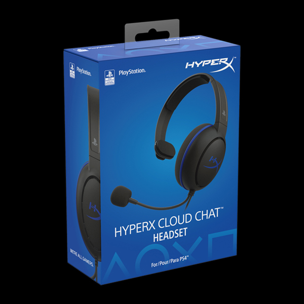 HyperX Cloud Chat PS4 (HX-HSCCHS-BK/EM) фото