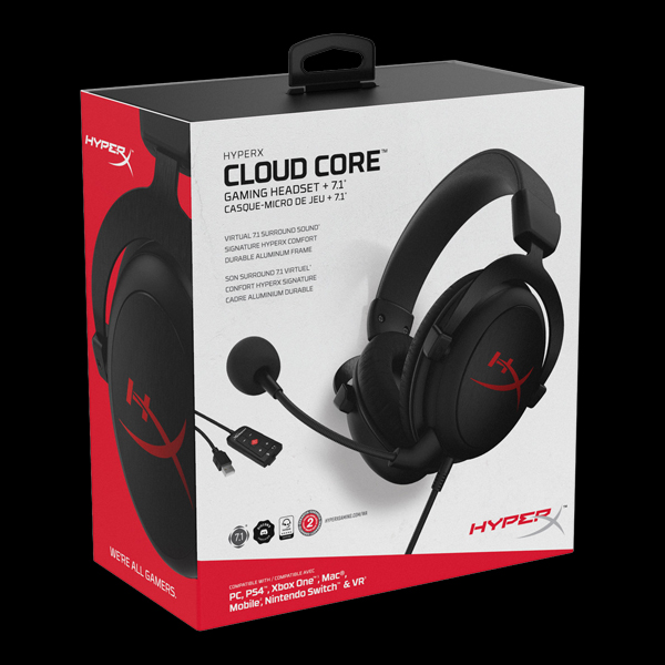 HyperX Cloud Core 7.1 (HX-HSCC-2-BK/WW) фото