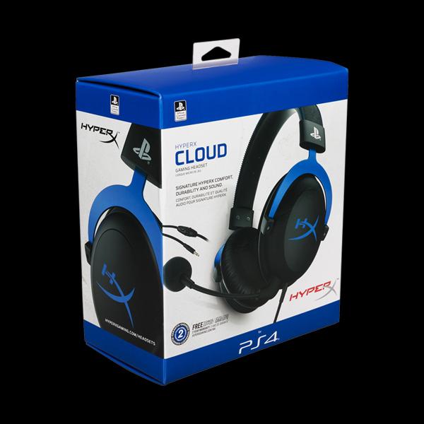 HyperX Cloud for PS4 Black/Blue (HX-HSCLS-BL/EM) фото