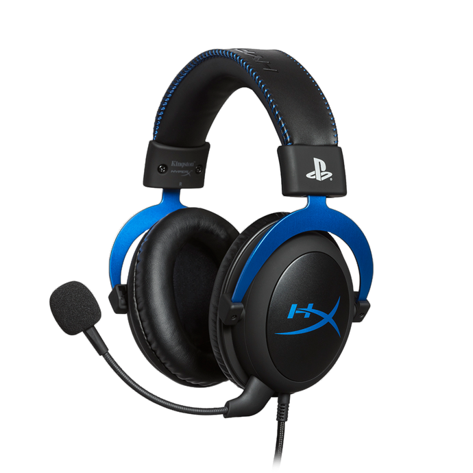 HyperX Cloud for PS4 Black/Blue (HX-HSCLS-BL/EM) купить