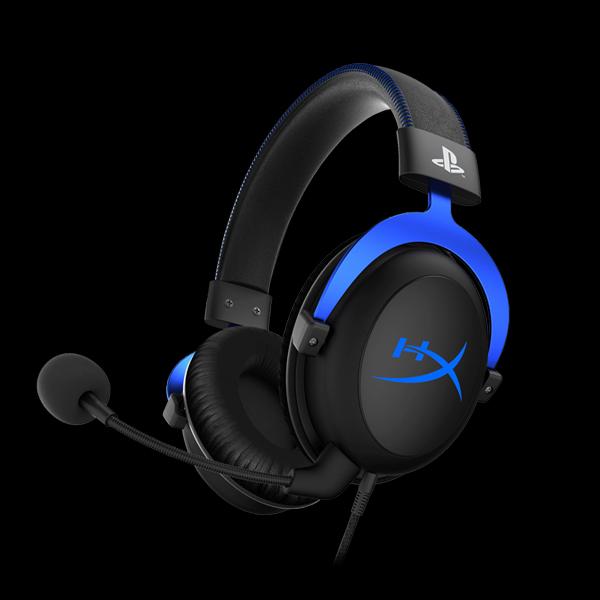 HyperX Cloud Gaming Headset for PS4 (HX-HSCLS-BL/EM) купить