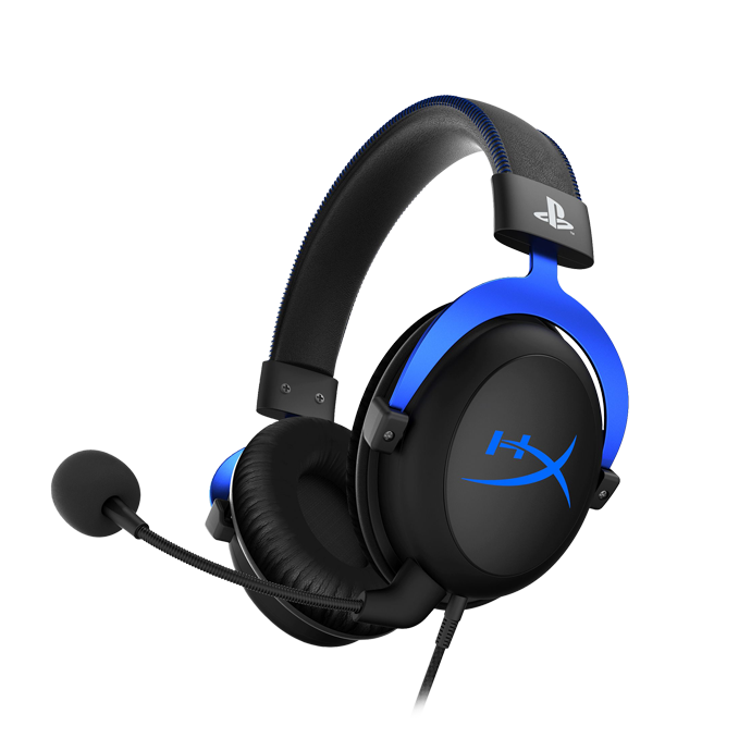 HyperX Cloud Gaming Headset for PS4 (HX-HSCLS-BL/EM) купить