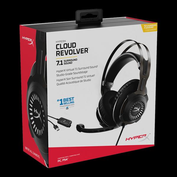HyperX Cloud Revolver 7.1 (HHSR1-AH-GM/G) стоимость