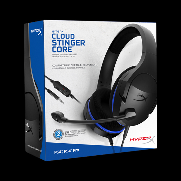 HyperX Cloud Stinger Core for PS4 (HX-HSCSC-BK) фото