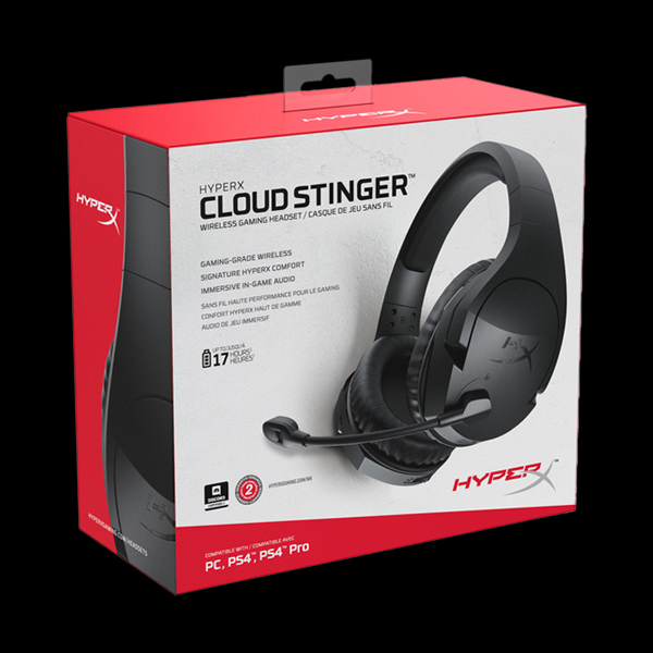 HyperX Cloud Stinger Wireless (HX-HSCSW2-BK/WW) стоимость