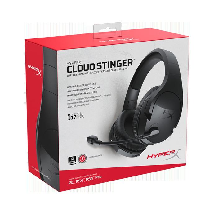 HyperX Cloud Stinger Wireless (HX-HSCSW2-BK/WW) стоимость