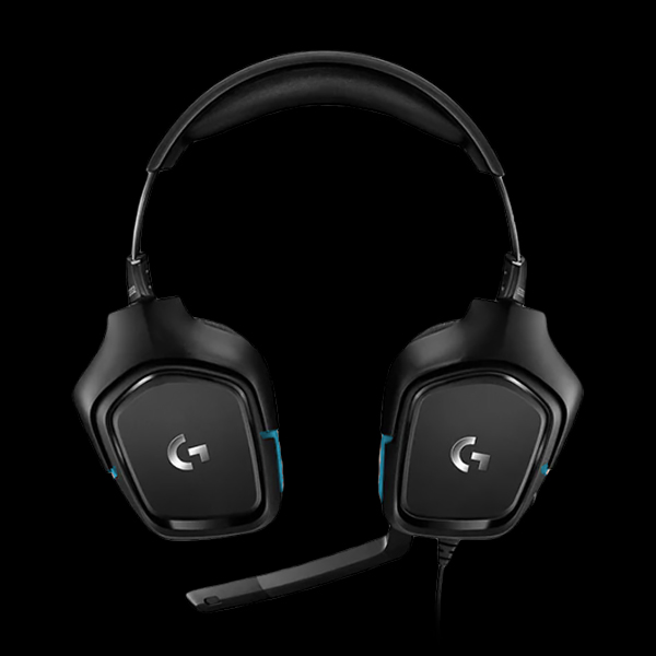 Logitech G432 7.1 Wired Gaming Headset (981-000770) фото
