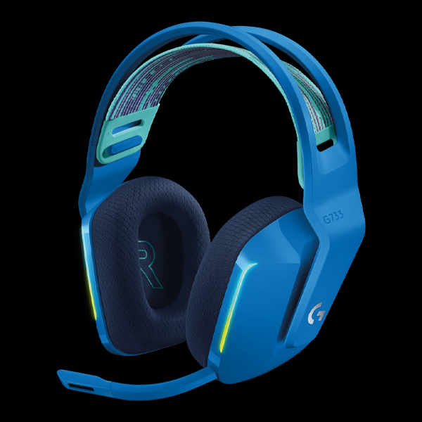Logitech G733 Lightspeed RGB Wireless Gaming Headset Blue (981-000943)