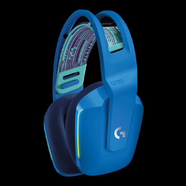 Logitech G733 Lightspeed RGB Wireless Gaming Headset Blue (981-000943) цена