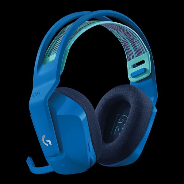 Logitech G733 Lightspeed RGB Wireless Gaming Headset Blue (981-000943) фото