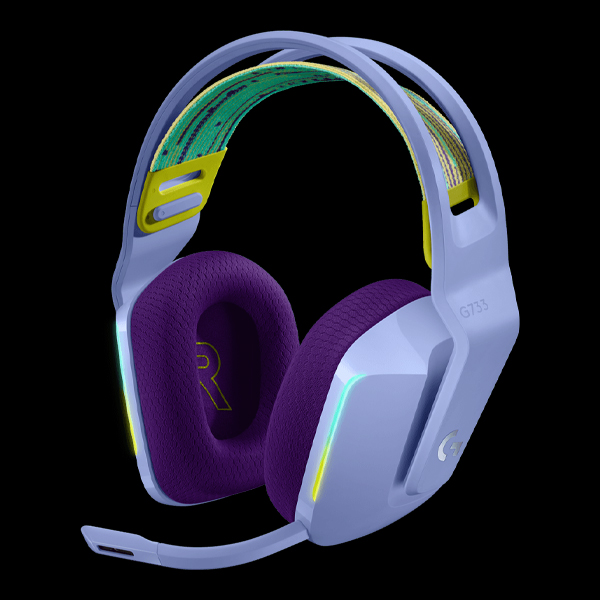 Logitech G733 Lightspeed RGB Wireless Gaming Headset Lilac (981-000890)
